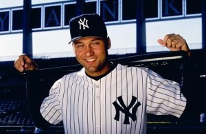 What solidified Jeter's legendary status?... The Pinstripes.