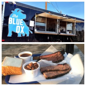 """Nothing like some beef ribs and brisket at The Blue OX BBQ for some high quality """"me time"""""""