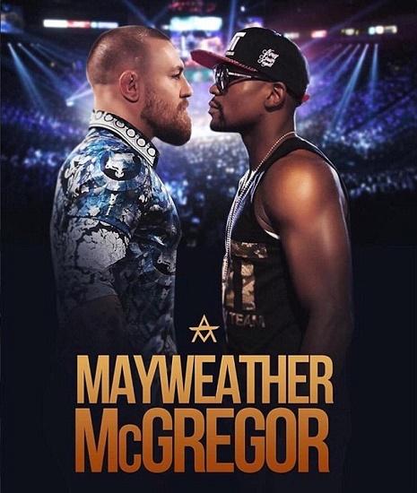 Conor McGregor Walk Mayweather vs. McGregor